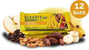 Elevate Me Banana Almond Natural Protein Bar