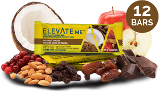 Elevate Me Coconut Cocoa Gluten Free Energy Bars