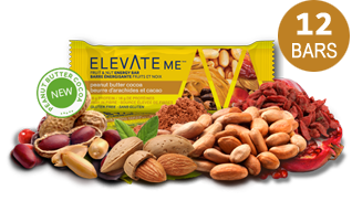 Elevate Me Peanut Butter Cocoa Protein Energy Bars