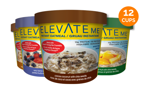 Elevate Me High Fiber Oatmeal Variety Box
