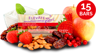 Elevate Me Perk Greek Yogurt Parfait All Natural Protein Bars