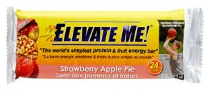 Strawberry Apple Pie energy Bar