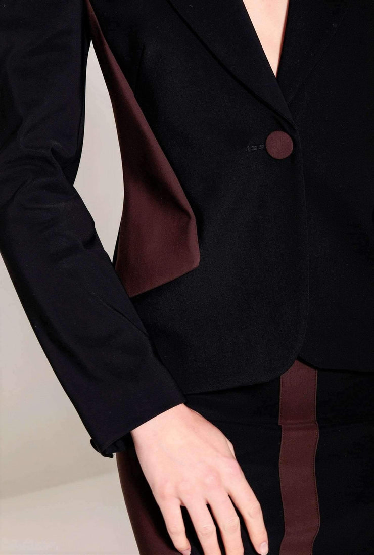 Blazer cintre marron - Heraboutique
