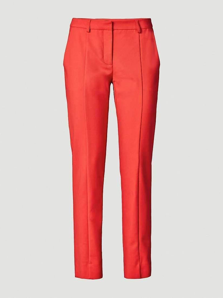 Pantalon carotte stretch orange - Heraboutique