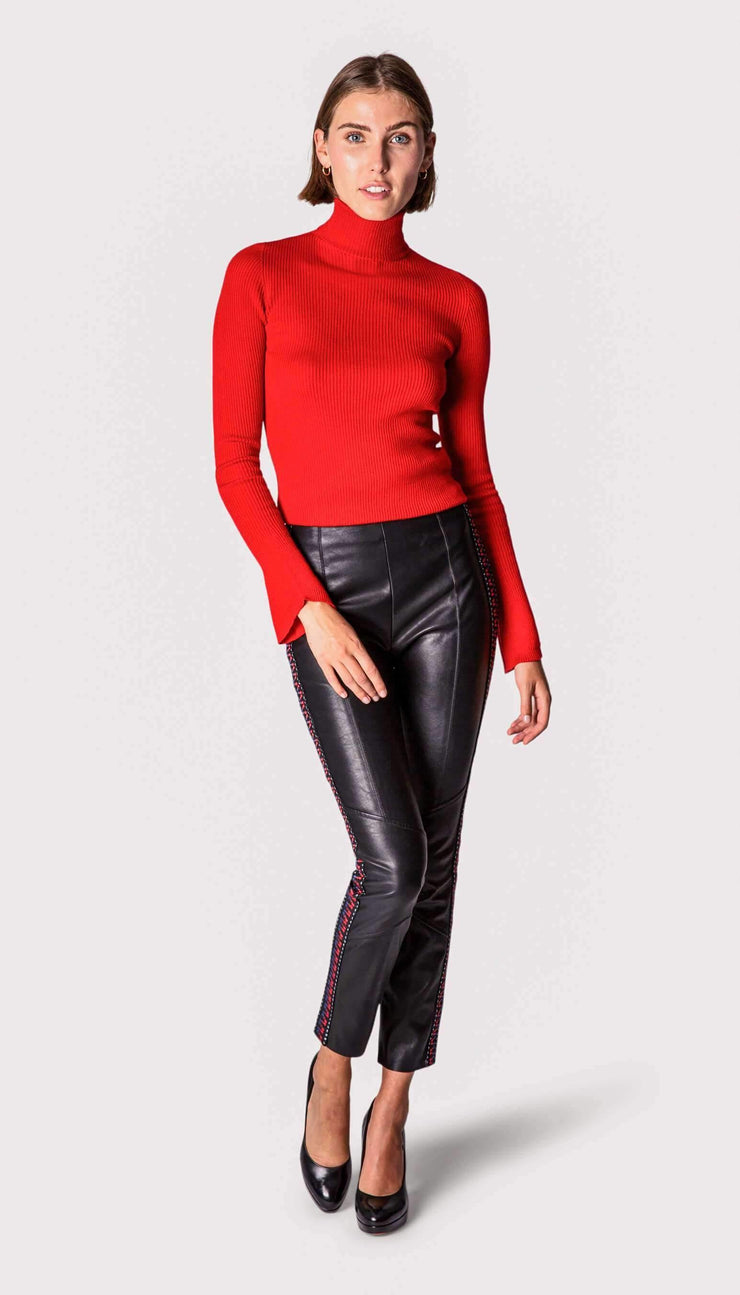 Pantalon en simili cuir - Heraboutique