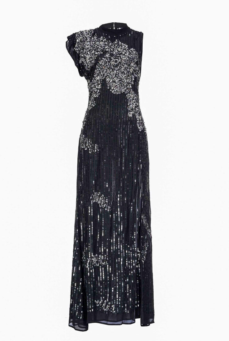 Robe elegante en sequins - Heraboutique