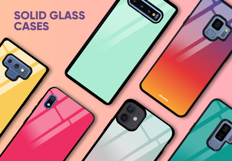 Solid Glass Cases