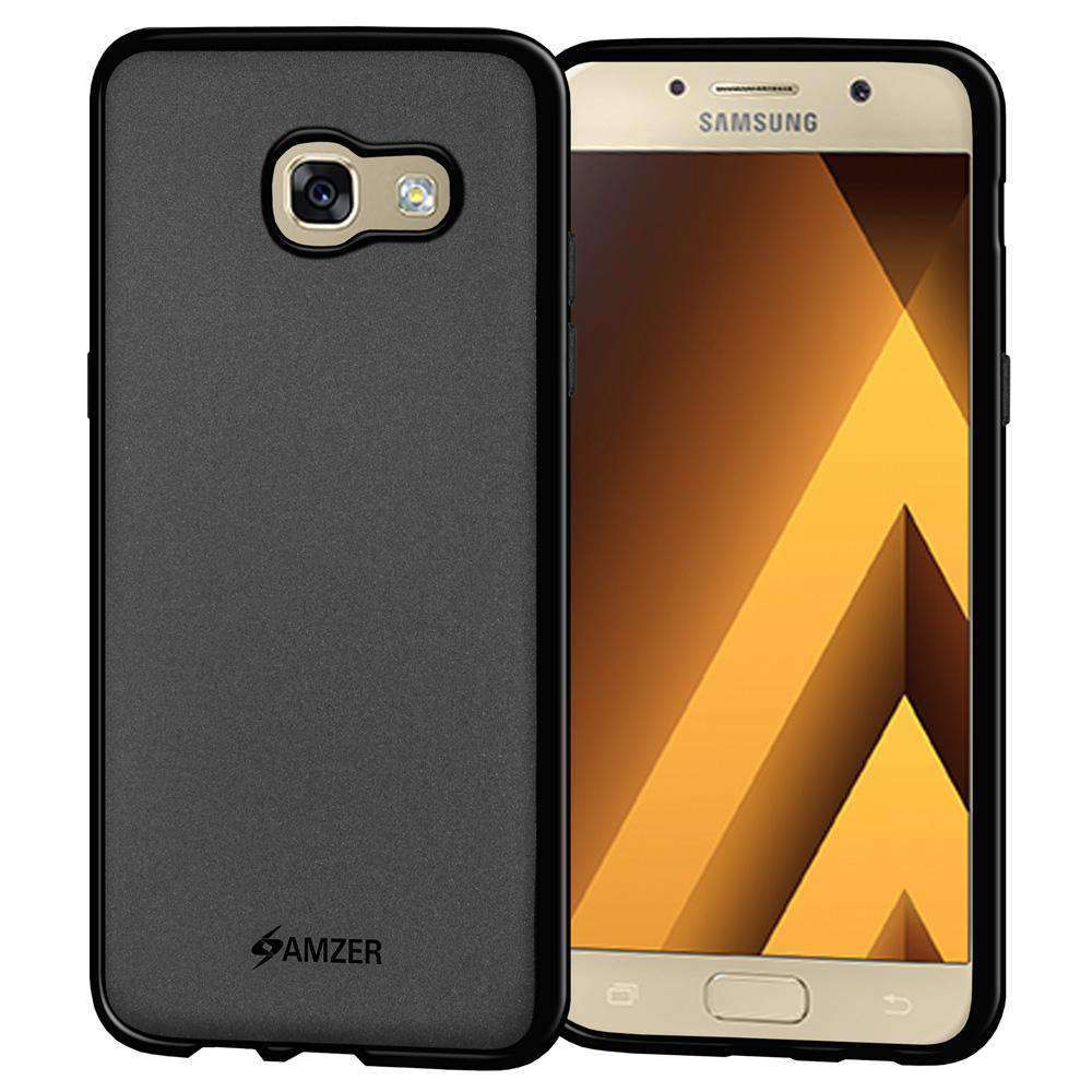 AMZER Pudding Soft TPU Skin Case for Samsung Galaxy A5 2017 - Black