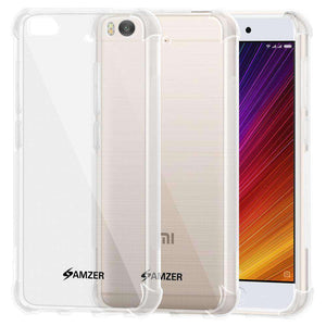 AMZER Pudding TPU Soft Skin X Protection Case for Xiaomi Mi 5s - Crystal Clear