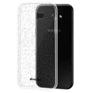 AMZER Pudding Raindrop Soft TPU Skin Case for Samsung Galaxy A7 2017 - Clear