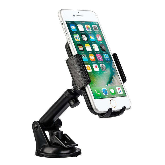 Universal Dash, Windshield Car Mount Phone Holder With Adjustable Extension Arm