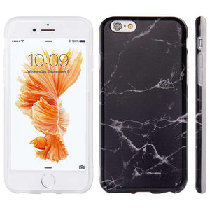 Marble IMD Soft Shockproof TPU Protective Case for iPhone 6 Plus - fommystore