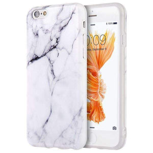 Marble IMD Soft Shockproof TPU Protective Case for iPhone 6 Plus
