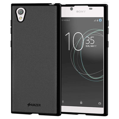 AMZER Pudding Soft TPU Skin Case for Sony Xperia L1 - Black