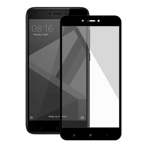 Premium Full Body Tempered Glass Screen Protector for Xiaomi Redmi 4 - fommystore
