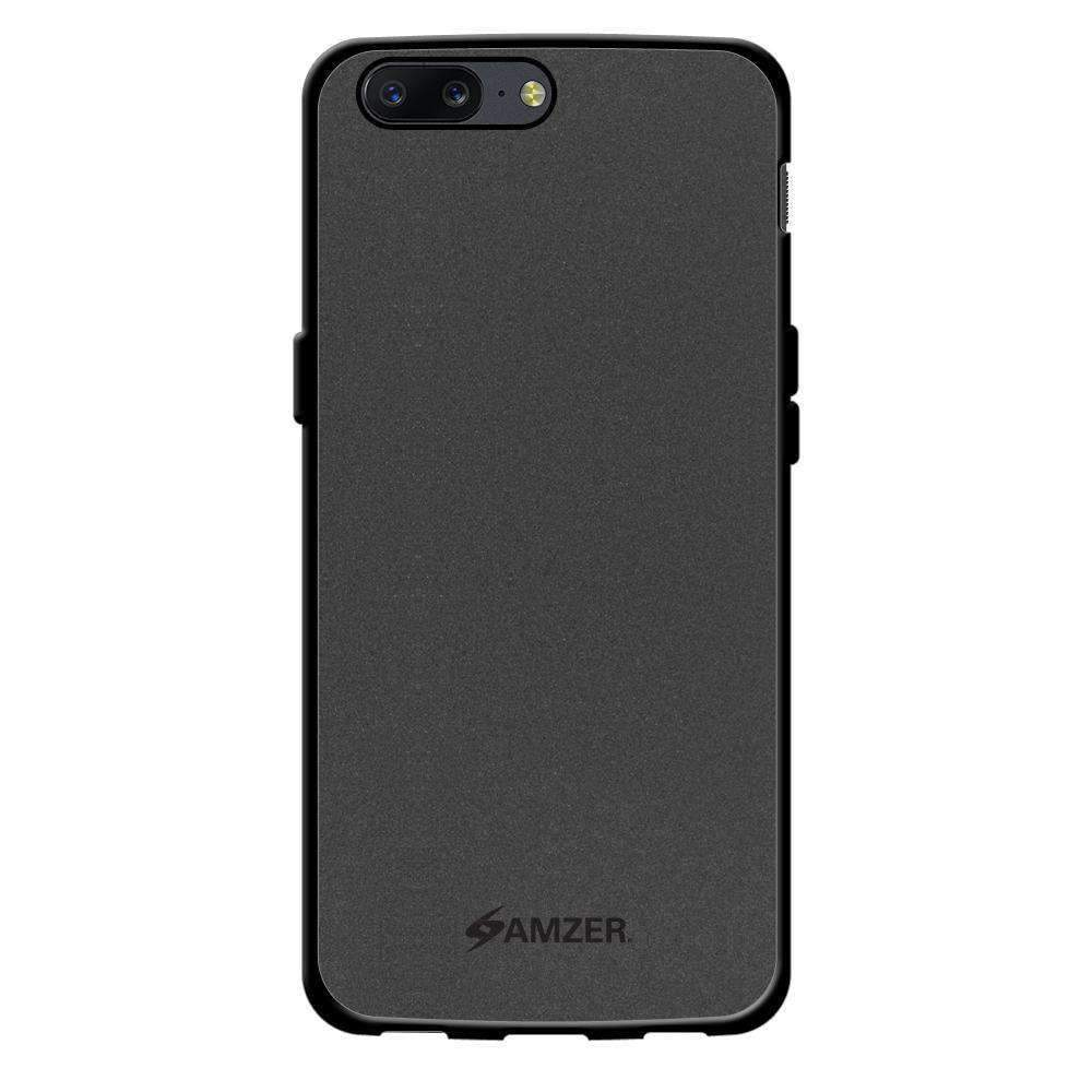 AMZER Pudding Soft TPU Skin Case for OnePlus 5 - Black