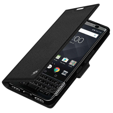 AMZER Flip Case for BlackBerry KEYone - Black