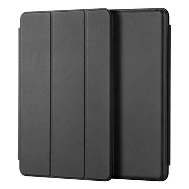 AMZER Shell Portfolio Case Leather Texture for Apple iPad Air 10.5 2019/ Apple iPad Pro 10.5 - Black