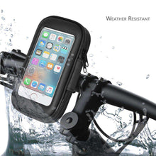 Load image into Gallery viewer, Weather Resistant 360° Rotable Bike Bicycle Handlebar Mount - Black