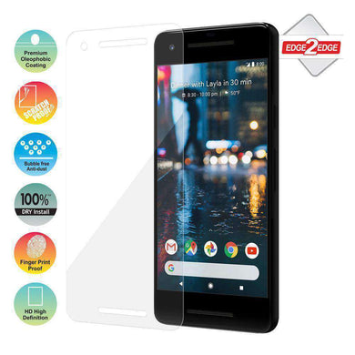 AMZER Edge2Edge Full Screen Coverage Screen Protector for Google Pixel 2 - amzer