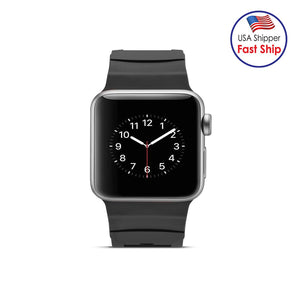 AMZER 42MM High Quality Silicone Watch Band Strap for Apple Watch Series 1 - amzer
