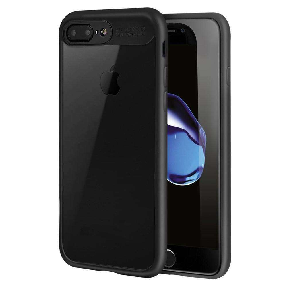 AMZER® Bare Hands Hybrid Protection Back Case - Black for iPhone 7 Plus