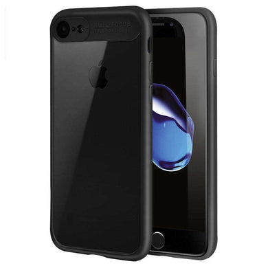 AMZER® Bare Hands Hybrid Protection Back Case - Black for iPhone 7 - amzer