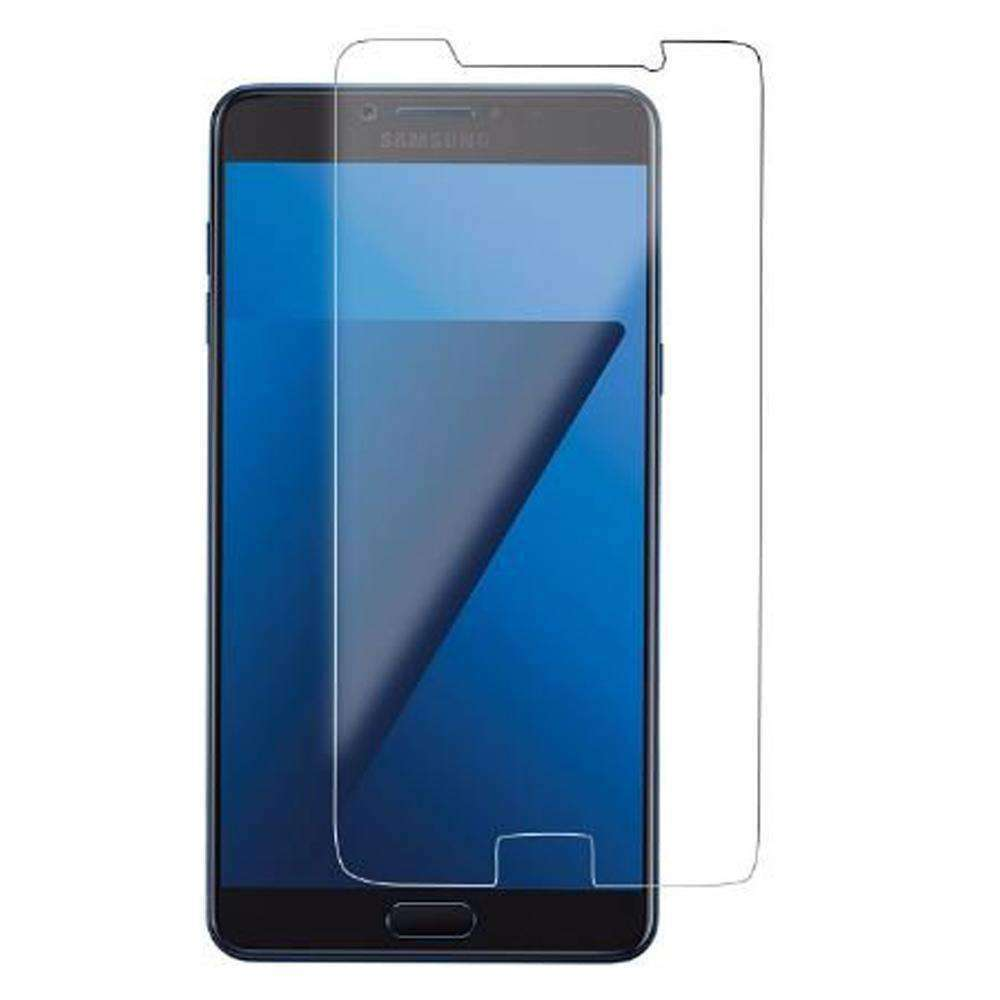 AMZER Kristal Tempered Glass HD Screen Protector for Galaxy C7 Pro - Clear