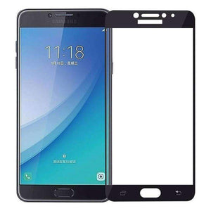 AMZER Kristal Tempered Glass HD Screen Protector for Galaxy C7 Pro - Black