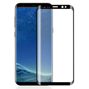 AMZER Kristal Tempered Glass HD Screen Protector for Samsung Galaxy S9 - Black