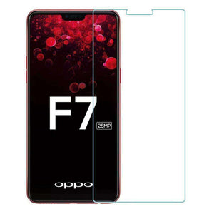 AMZER Kristal Tempered Glass HD Screen Protector for OPPO F7 - Clear