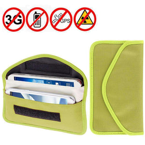 Amzer Anti-radiation, Anti-tracking Pouch EMF Protection Anti-spying GPS RFID Signal Blocker upto 6.3 inches