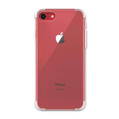 AMZER Pudding TPU Soft Skin X Protection Case for iPhone 7, iPhone SE 2020 - Crystal Clear