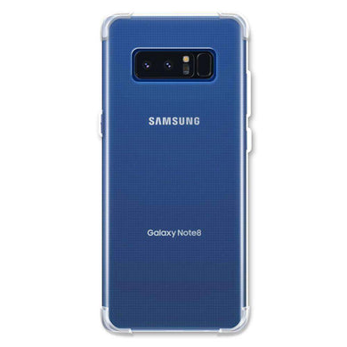 AMZER Pudding TPU Soft Skin X Protection Case for Samsung Galaxy Note8 - Clear - amzer
