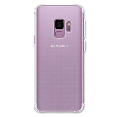 AMZER Pudding TPU Soft Skin X Protection Case for Samsung Galaxy S9 - Clear - amzer