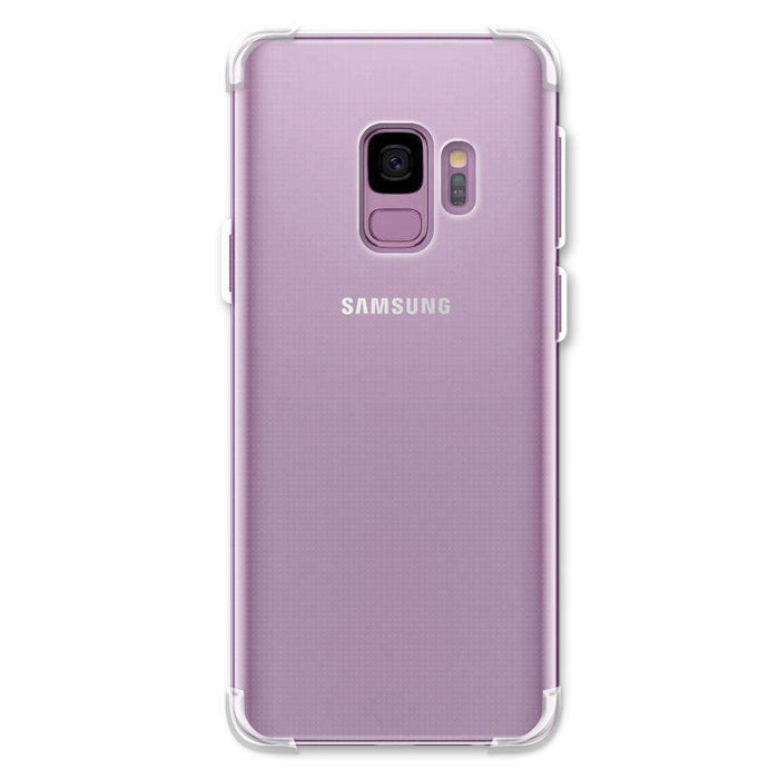 AMZER Pudding TPU Soft Skin X Protection Case for Samsung Galaxy S9 - Clear