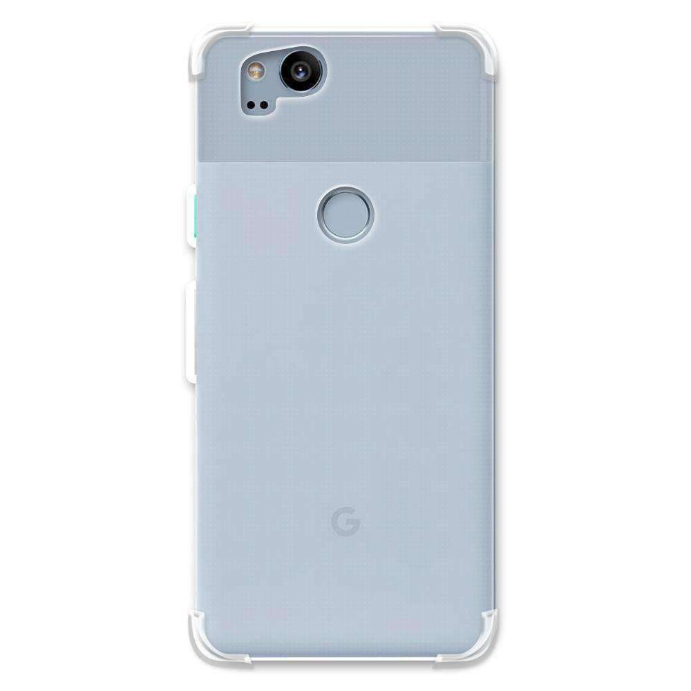 AMZER Pudding TPU Soft Skin X Protection Case for Google Pixel 2 - Clear