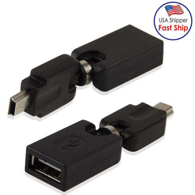 Support 360 Degree Rotation |  Quality USB 2.0 AF | Amzer