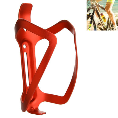 High-strength Aluminum Portable Drinking Cup Water Bottle Cage Holder Bracket Stand for Bike - Red