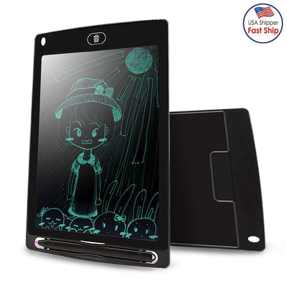 8.5 inch LCD Writing Tablet Electronic Handwriting Graphics Board Draft Paper With Writing Pen - amzer