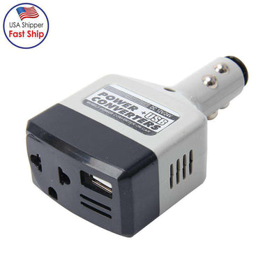 Mobile Power Connector on Car Power USB Converters DC 12 - 24V