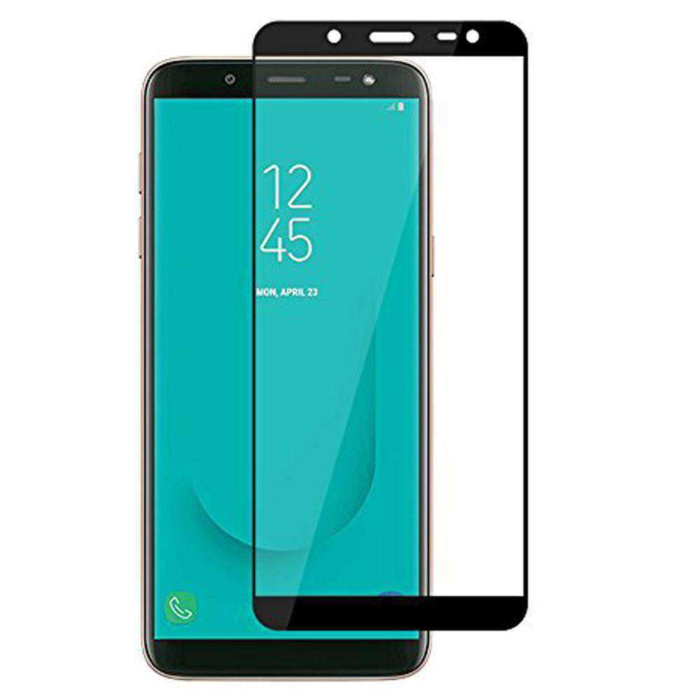 AMZER Kristal 9H Edge2Edge Tempered Glass for Samsung Galaxy J8 - Black