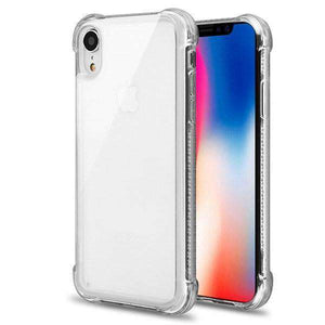 AMZER Pudding TPU Soft Skin X Protection Case for iPhone Xr - Crystal Clear - amzer