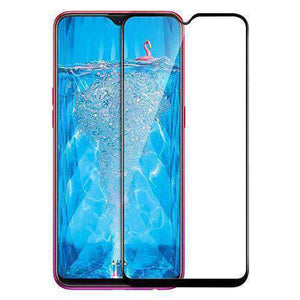 AMZER Kristal 9H Tempered Glass Edge2Edge Protector for OPPO F9 Pro - Black