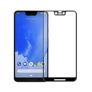 AMZER 9H Curved 3D Edge2edge Tempered Glass for Google Pixel 3 XL - Black