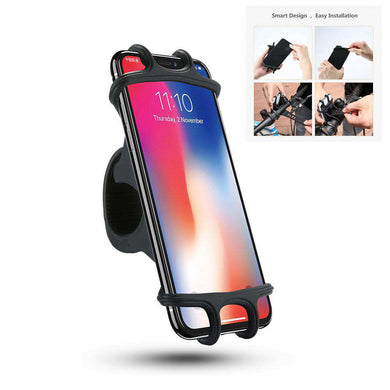 AMZER® Universal Bicycle Mobile Phone Holder, Suitable for 4.0-6.3 inch Mobile Phones - amzer