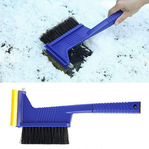AMZER® 5 in 1 Car Snow Shovel Auto Ice Scraper Winter Road Safety Cleaning Tools Defrost Deicing Rem - amzer