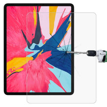 Load image into Gallery viewer, AMZER 0.26mm 9H Straight Edge Tempered Glass Screen Protector for Apple iPad Pro 12.9 Inch 2018 - Clear - amzer