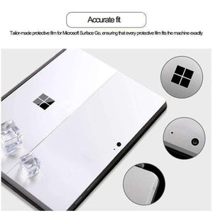 AMZER Back Cover Film Protector Tablet for Microsoft Surface Go- Silver - amzer