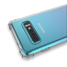 Load image into Gallery viewer, AMZER Pudding TPU X Protection Soft Skin Case for Samsung Galaxy S10 - Clear - amzer